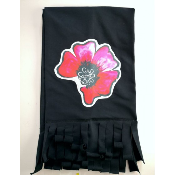 Black scarf - Poppy