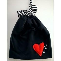 Črna kapa - Srček
