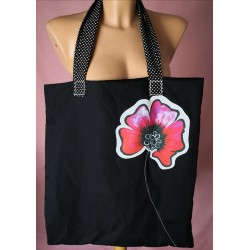 Črna torbica - Mak