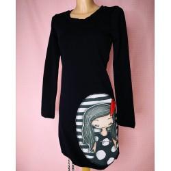 Obleka Pupa Kaja črna