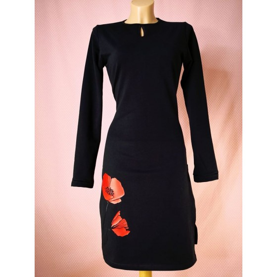 Obleka Rdeči mak