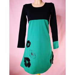 Obleka Zeleni mak
