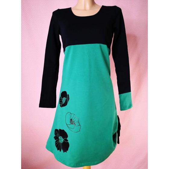 Dress Green poppy