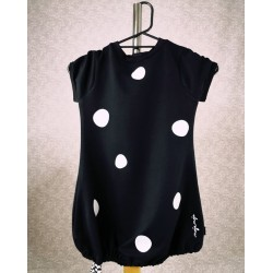 Obleka Mini Pika črna