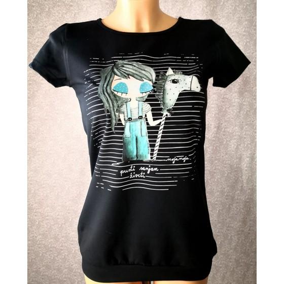 Majica Pusti sanjam živeti
