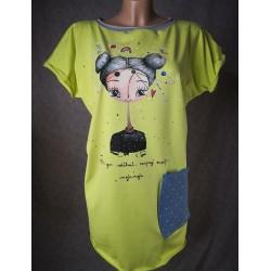 Prevelika majica Limeta - zaupaj Vesolju