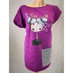Prevelika majica Ciklama - Glavo gor