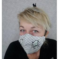 Protipljuvalna maska - ne seri