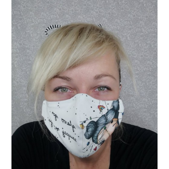 Protipljuvalna maska - zaupaj vesolju