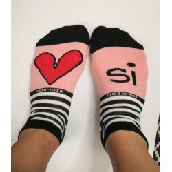Kids socks Srček si