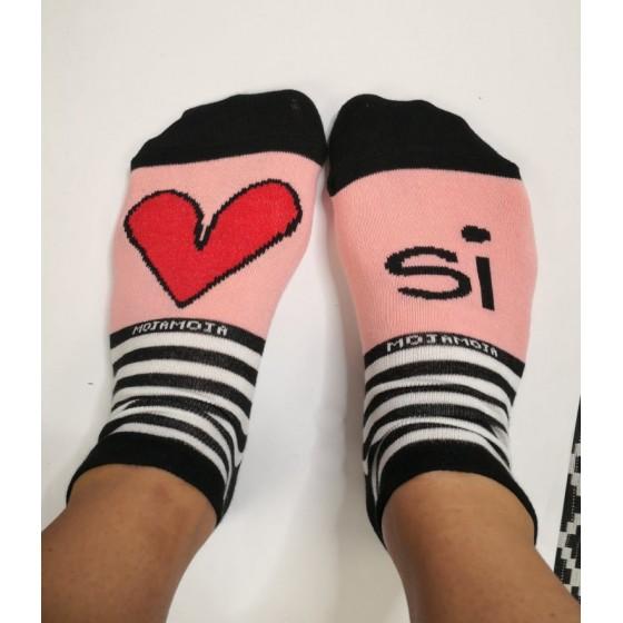 Otroške nogavice Srček si
