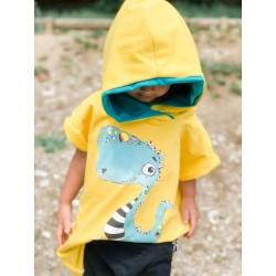 Mini prevelik kapucar - rumena dinozaver