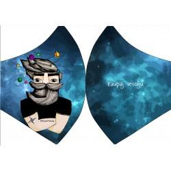 Protipljuvalna maska - Vesolje ON