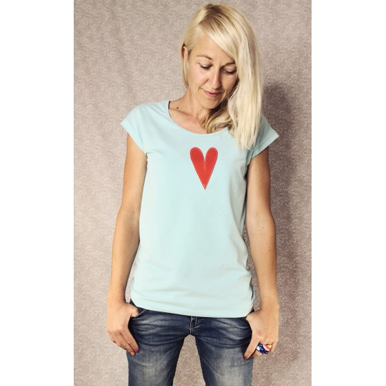Modra majica morska deklica