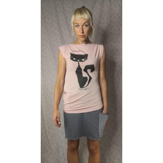 Asimetrična majica Nadrkana