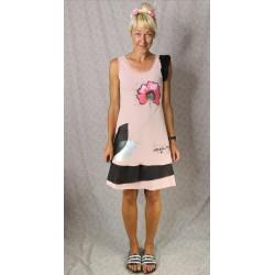 Obleka Lučka roza