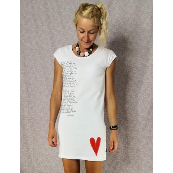 Prevelika majica Let your heart