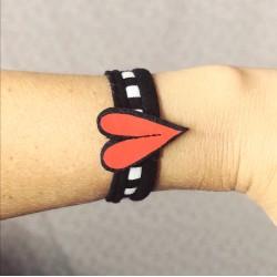 Hearted bracelets