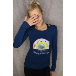 Majica Mavrica - modra