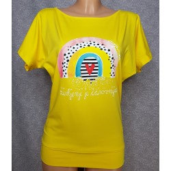 Majica Čarovnija - rumena