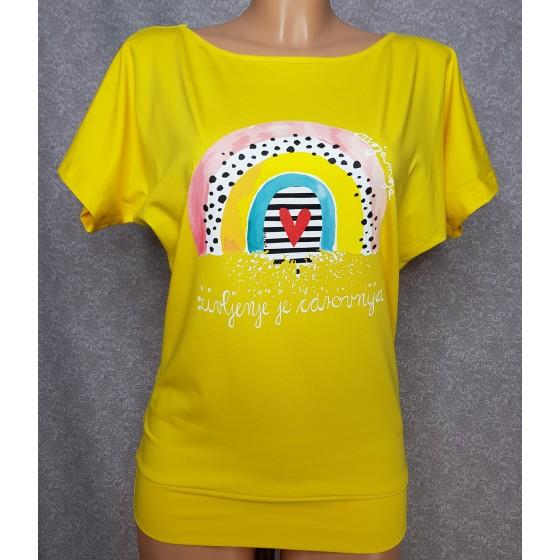 Majica Čarovnija rumena