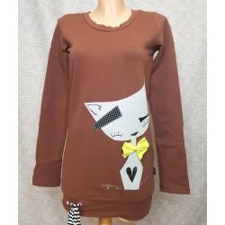 Rjav pulover Mucek