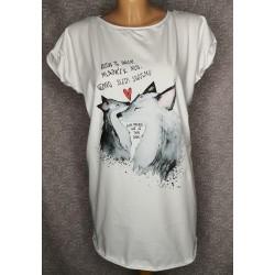 Prevelika majica Sledi srcu
