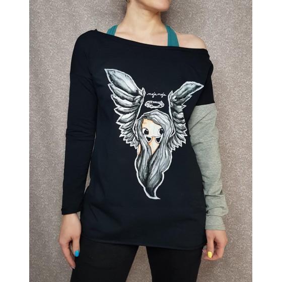 Prevelik puloverček Angel
