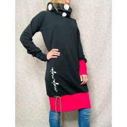 Oversize hoodie Dots