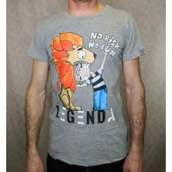 Men t-shirt LEGENDA No risk