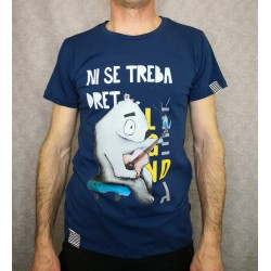 Men t-shirt LEGENDA Ni se treba dret