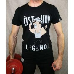 Men t-shirt LEGENDA Čist hud