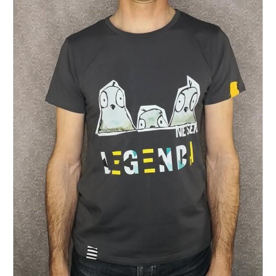 Men t-shirt LEGENDA Ne seri
