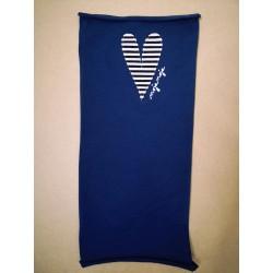 Buf heart - blue
