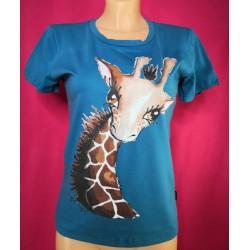 Petrol majčika žirafa