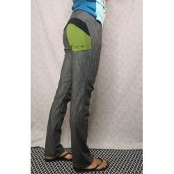 Dolge hlače - zelen žep