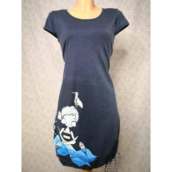 Modra obleka Zen