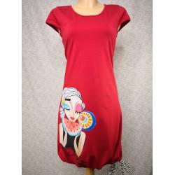 Rdeča obleka Sladka lubenica