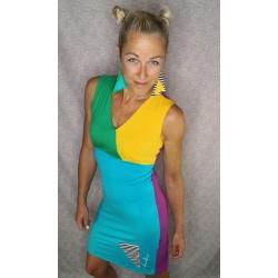 Dress - colourful